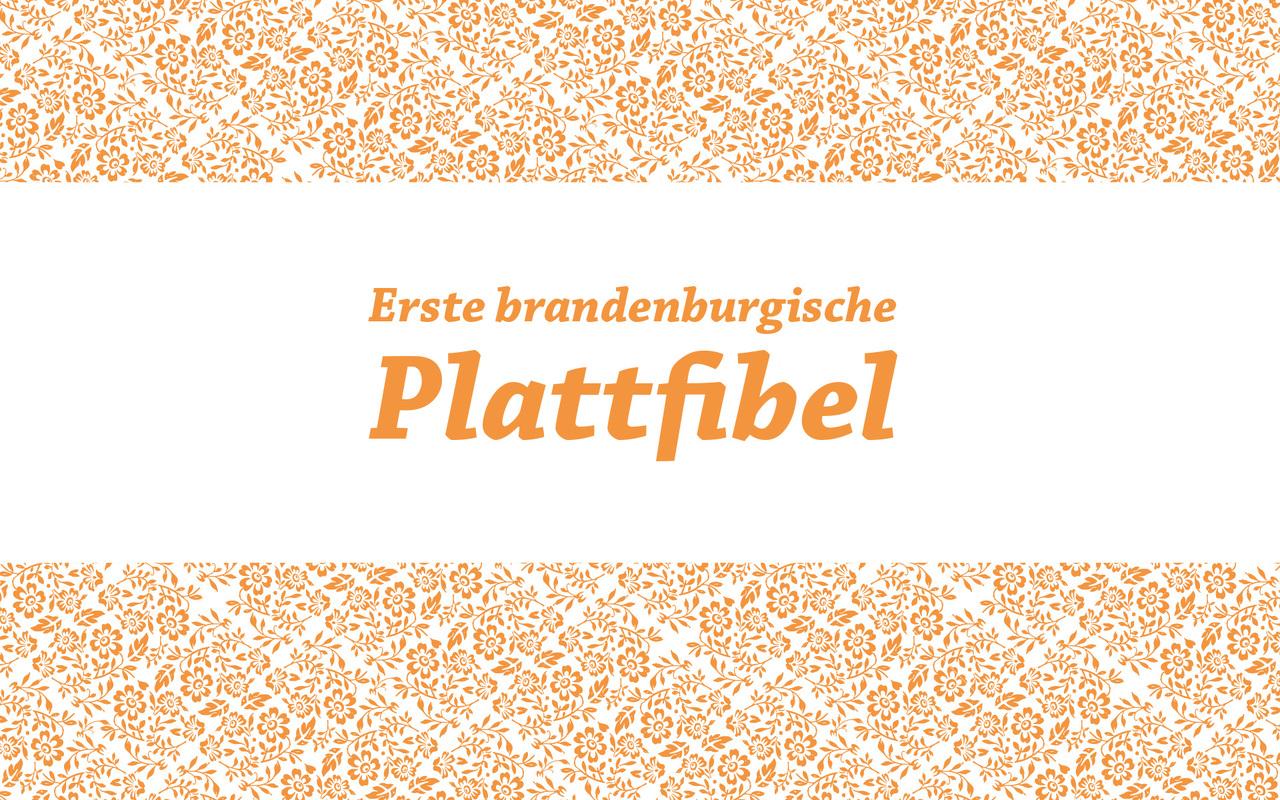 Erste brandenburgische Plattfibel