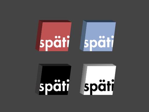 SPÆTI – Kennzeichen für einen Ladentypus