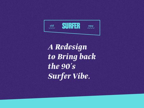 SURFER Magazine – Redesign